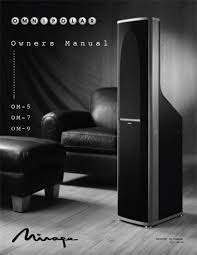 mirage speakers om7 user manual pdf download