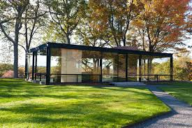 glass house philip johnson plan farnsworth dimensions home decorators