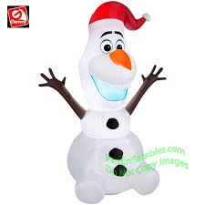 Frosty The Snowman Outdoor Decoration Christmas Inflatables