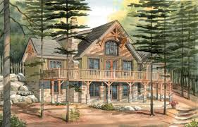 a frame house plans with basement carleton a timber frame cabin