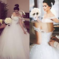 designer wedding dresses gowns beading unique the shoulder lace up appliques gown