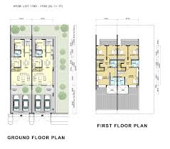 Double Story Floor Plans Highfields Phase 2 Hock Seng Lee Berhad Hsl Property
