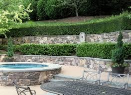 Terraced Patio Designs Flagstone Patio Retaining Wall Designs Masonry Sisson Landcapes