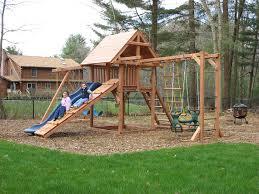swing sets on kid backyard backyards and sandbox