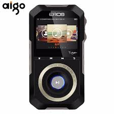 mp3 android aigo hifi portable mp3 audio player metal wooden back android