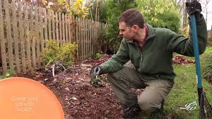 how to prepare flower beds for winter keep moisture in and weeds