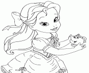 baby princess disney rapunzel coloring pages printable