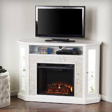 Rustic Electric Fireplace Shop Boston Loft Furnishings 52 25 In W Fresh White Rustic White