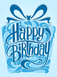 happy birthday cards for him blue gift box happy birthday card birthday greeting cards by davia