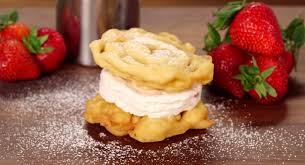 here u0027s a funnel cake ice cream sandwich recipe you u0027re welcome