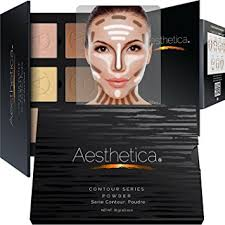 aesthetica cosmetics contour and highlighting powder foundation palette contouring makeup kit easy to