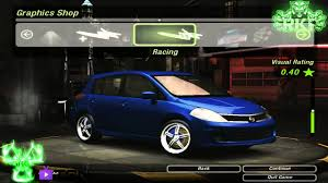 nissan versa fog lights need for speed underground 2 nissan tiida versa s 2009 tuning by
