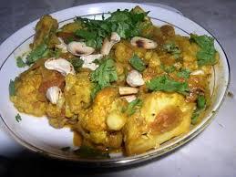 comment cuisiner chou fleur recette de chou fleur aux noix de cajou plat indien