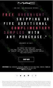 mac cosmetics cyber monday 2017 sale deals black friday 2017