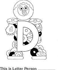 letter people coloring page 28893 bestofcoloring com