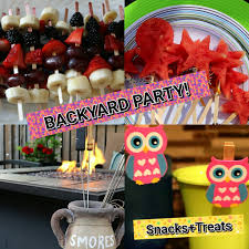 summer backyard party diy snacks treats nicolette evelyn youtube