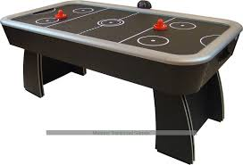 foldable air hockey table gamesson spectrum 6ft air hockey table black