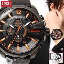 watches for buy diesel the daddie analog chronograph grey for