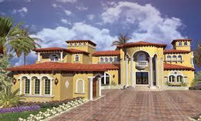 home plans spanish mediterranean style