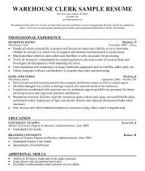 Resume Building Words Stock Clerk Resume Sample Use In Resume Finance Objective And