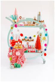 colorful cocoa cart u2014 cake u0026 confetti