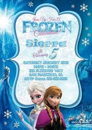 party frozen birthday party invitations make your charming party