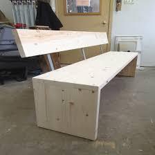 banc de cuisine en bois avec dossier banc de cuisine avec dossier awesome cuisine avec banquette table