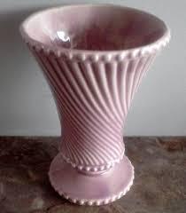 Mccoy Vase Value Vintage Mccoy Pink Swirl And Hobnob Ceramic By Fingerlakesfinds
