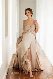 beige dresses for wedding best 25 nontraditional wedding dresses ideas on