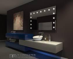 Led Bathroom Mirror Led Bathroom Mirror Hollywood 60 X 36 In U2013 Ib Mirror