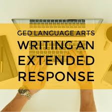 ged writing practice tests extended response for the ged language
