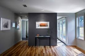 dark grey accent wall with light grey walls someday when we own