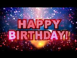 happy birthday greeting card with fireworks youtube