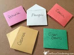 seed envelopes easy diy seed envelopes