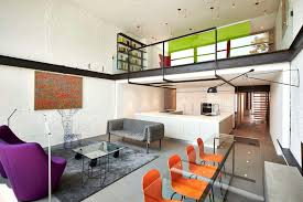 home designs orange dining chairs modern row house for a fun