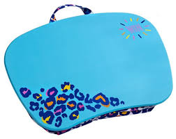 be fierce leopard multi colored blue lap desk 15 u0027 u0027x12 u0027 u0027x2