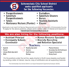 Principal Intern Math Specialist Resume Principal Intern Math by Employment Opportunities Schenectady City District