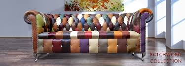 Patchwork Chesterfield - patchwork leather chesterfield sofa www energywarden net
