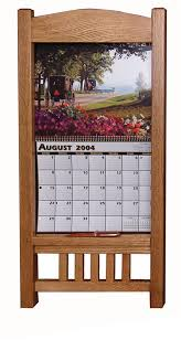 oak wood calendar frame from dutchcrafters amish furniture