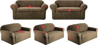 how to measure sofa for slipcover how to measure furniture for slipcovers kohl s