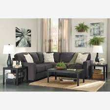 ashley furniture floor ls 2pc charcoal sectional with laf sofa f2 166ls 2pc ashley afw