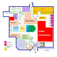 mcg floor plan greenblatt library floor plans 1st floor