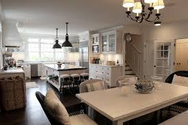 white farmhouse dining table transitional dining room angie