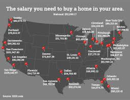 houston map buy how much you need to make to own a home in 27 cities in u s