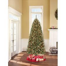 9 ft slim tree lights decoration