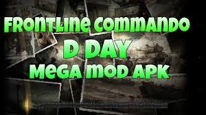 frontline commando d day apk free frontline commando d day v3 0 4 mod apk mega mod