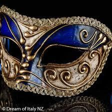 italian masquerade masks venetian masquerade mask colombina blue