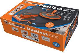 fci dust free sanding system orange grey amazon com