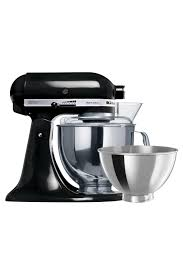 Kitchen Aid Artisan Mixer by Kitchenaid Ksm160 Artisan Mixer Black 5ksm160psaob Myer Online