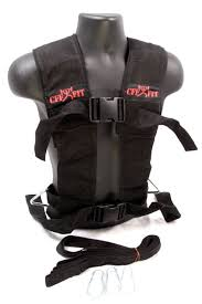 amazon com cff multi purpose sled harness vest black red